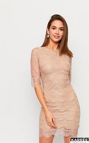 Платье Молли, Бежевый - фото 1