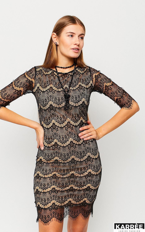Платье Молли, Черный