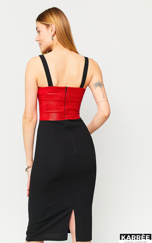 Платье Рокси, Красный - фото 4