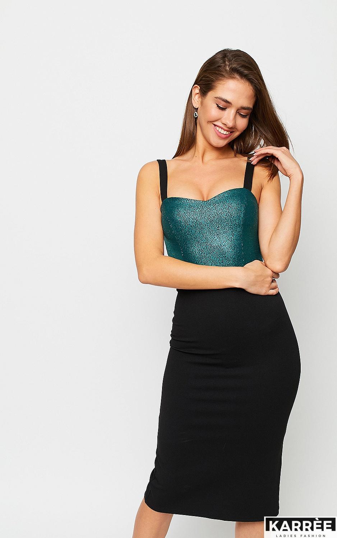 Платье Рокси, Зеленый