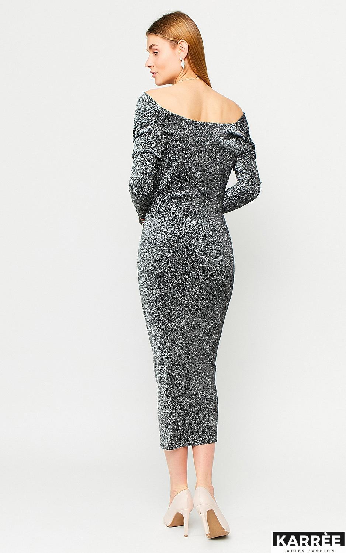 Платье Теона, Серебро - фото 3