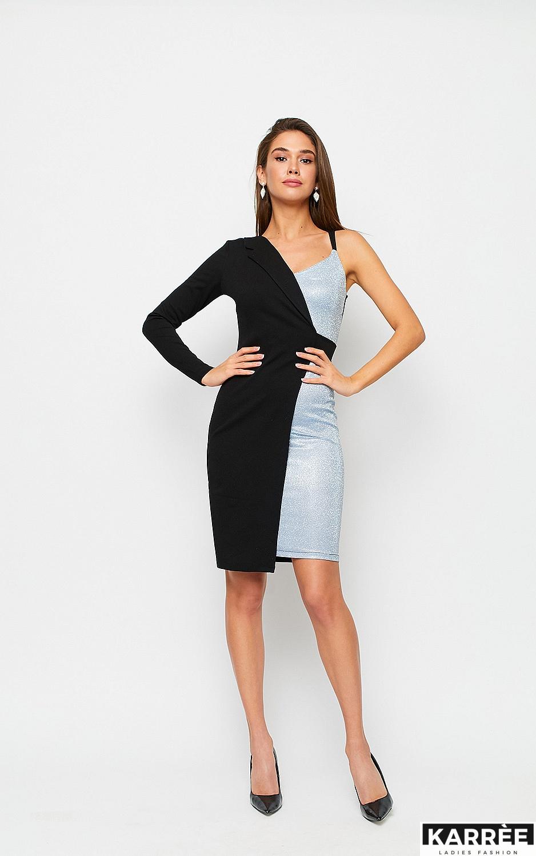 Платье Лиам, Серебро - фото 2