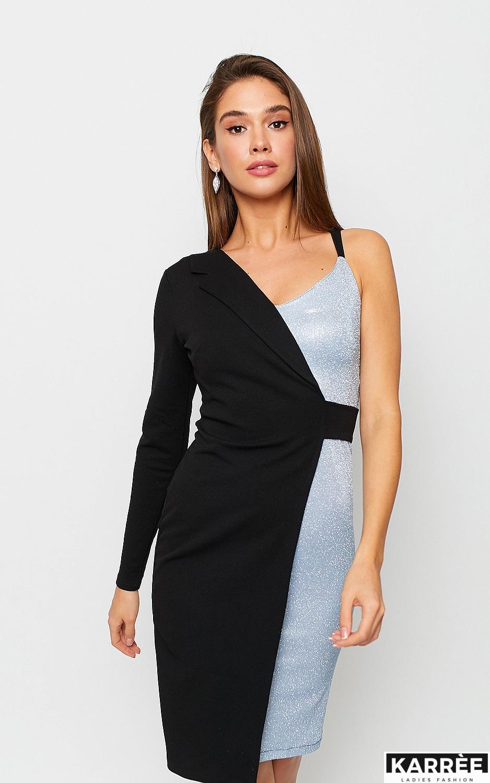 Платье Лиам, Серебро - фото 4