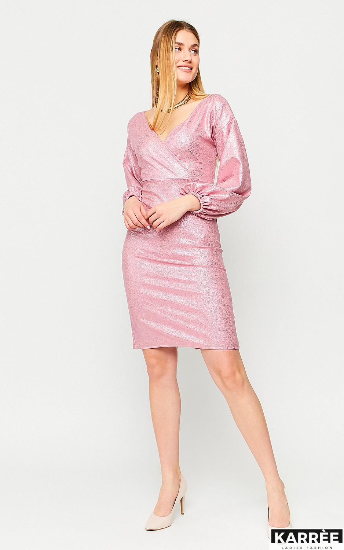 Платье Асти, Пудровый - фото 3