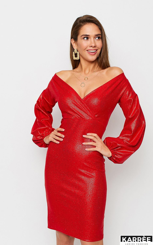 Платье Асти, Красный - фото 2