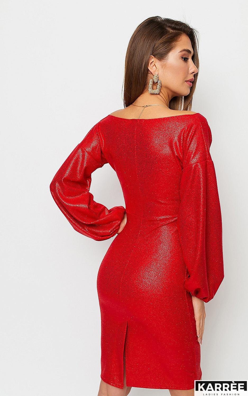 Платье Асти, Красный - фото 4