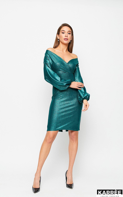Платье Асти, Зеленый - фото 3