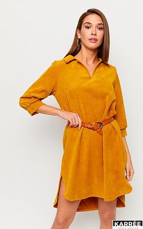 Платье Капучино, Рыжий - фото 1