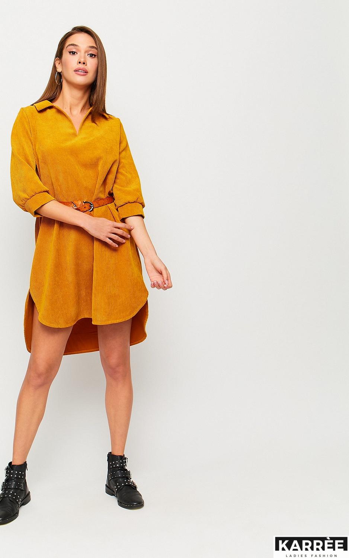 Платье Капучино, Рыжий - фото 4