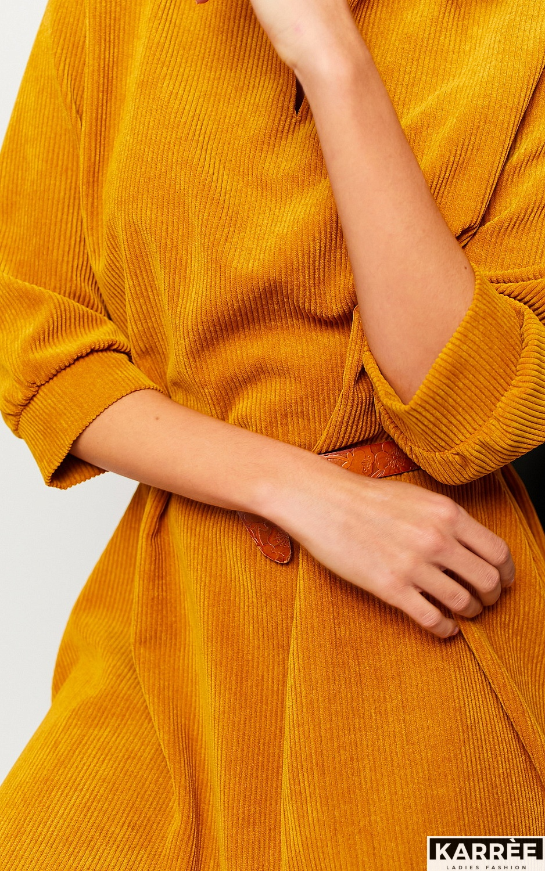 Платье Капучино, Рыжий - фото 3