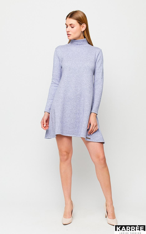 Платье Латте, Голубой