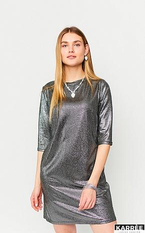 Платье Рене, Черный - фото 1