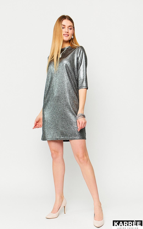 Платье Рене, Черный - фото 3