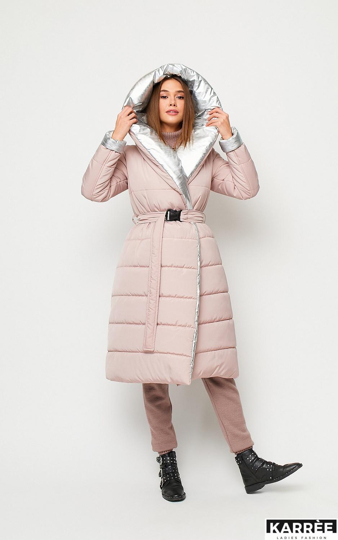 Пальто Бруклин, Пудровый - фото 2