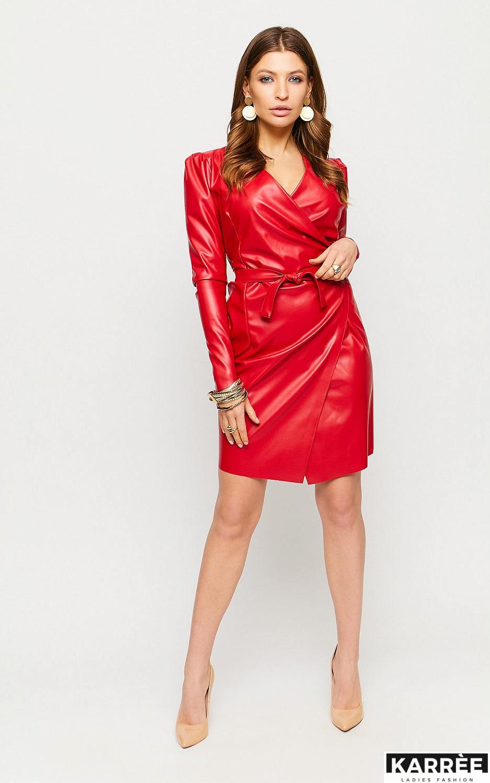 Платье Ликата, Красный