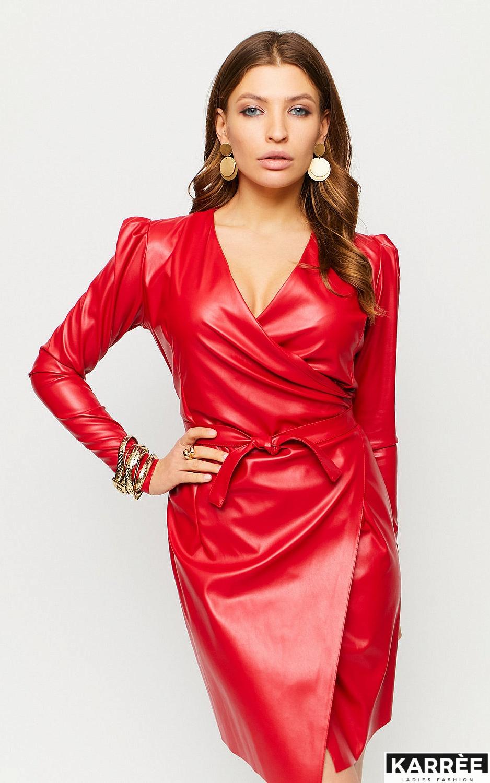 Платье Ликата, Красный - фото 3