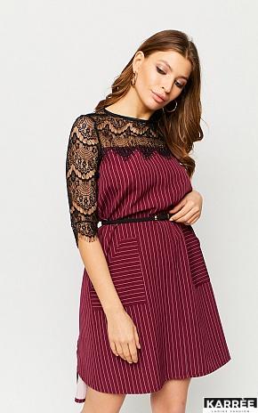 Платье Бертони, Марсала - фото 1
