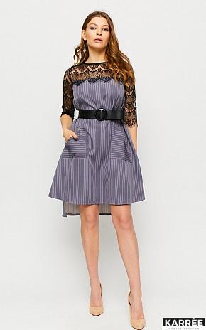 Платье Бертони, Серый - фото 1