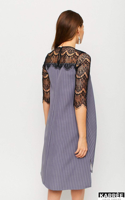 Платье Бертони, Серый - фото 4