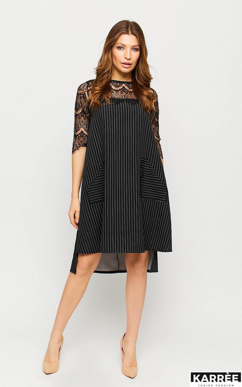 Платье Бертони, Черный - фото 2