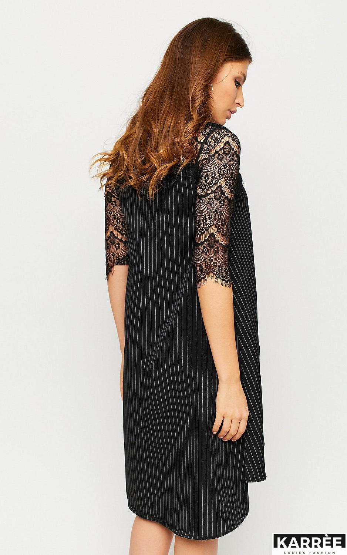 Платье Бертони, Черный - фото 4