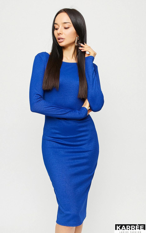 Платье Сола, Синий - фото 2