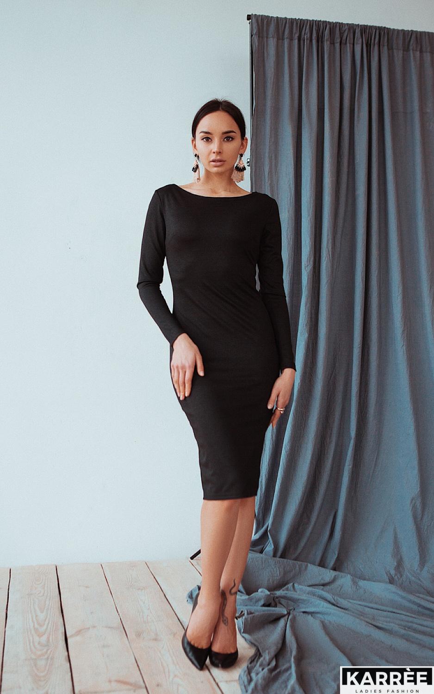 Платье Сола, Черный