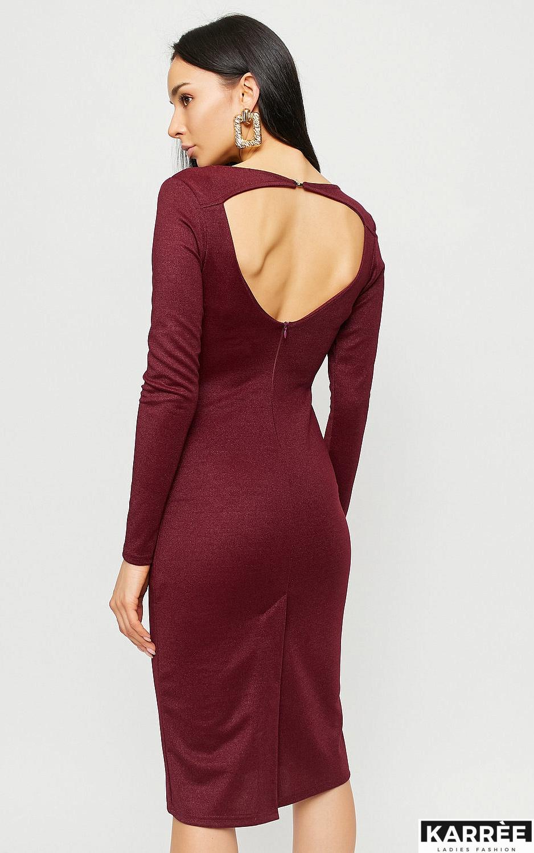 Платье Сола, Марсала - фото 3