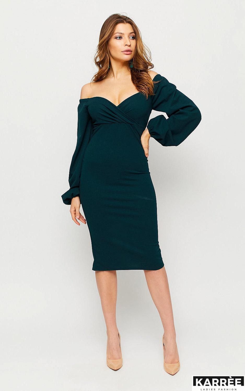Платье Ивонн, Зеленый - фото 1