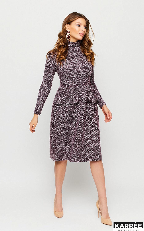 Платье Онтарио, Марсала - фото 1