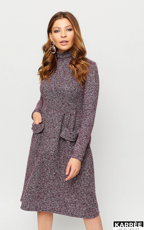 Платье Онтарио, Марсала - фото 2