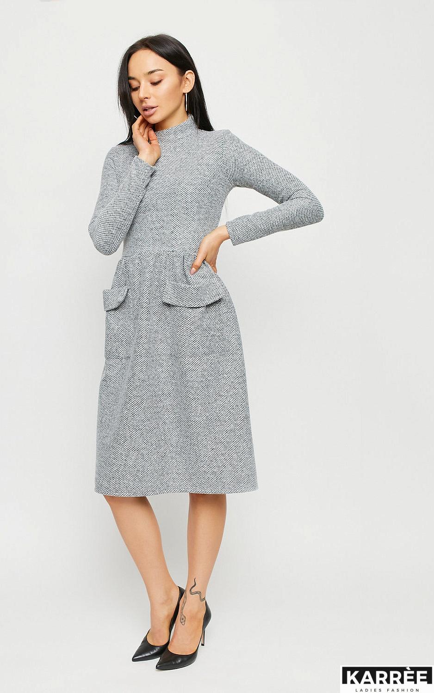 Платье Онтарио, Серый