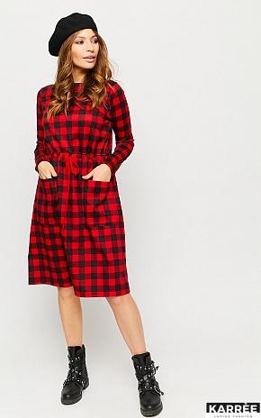 Платье Тулон, Красный - фото 1