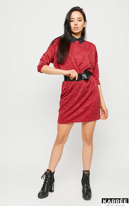 Платье Лисбон, Красный - фото 3