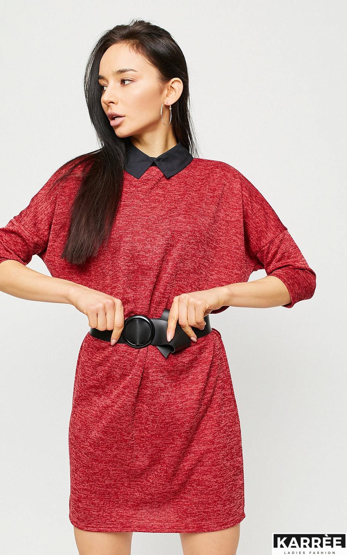 Платье Лисбон, Красный - фото 2