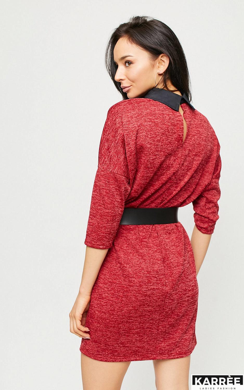 Платье Лисбон, Красный - фото 4