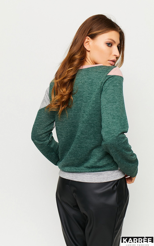 Свитшот Темпе, Темно-зеленый