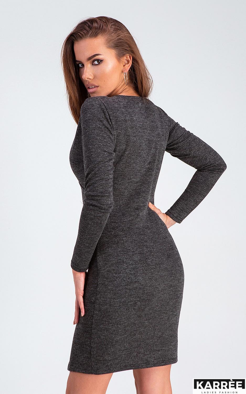Платье Винди, Черный - фото 3