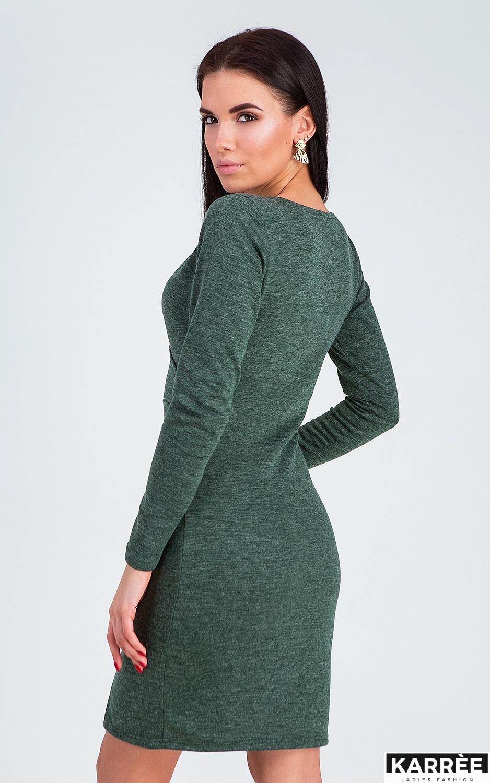 Платье Винди, Темно-зеленый