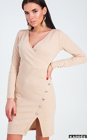 Платье Винди, Бежевый - фото 1