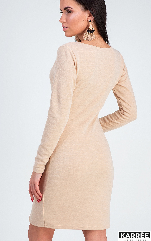 Платье Винди, Бежевый - фото 2