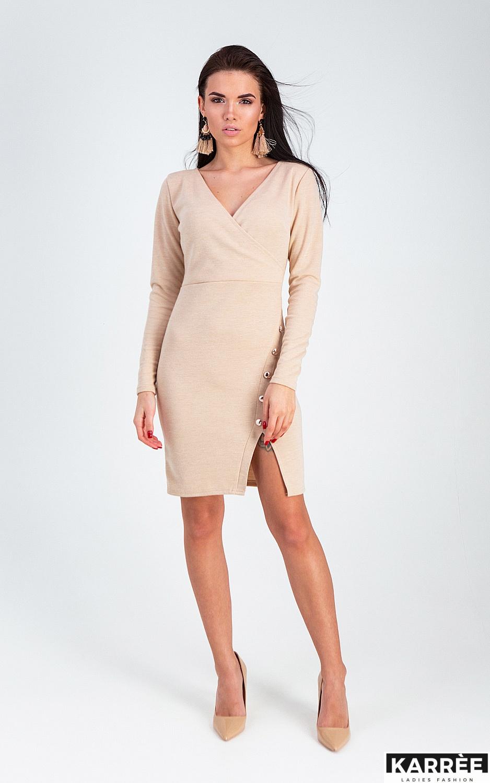 Платье Винди, Бежевый - фото 3