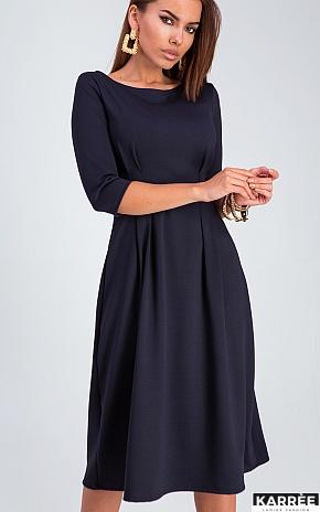Платье Каен, Темно-синий - фото 1