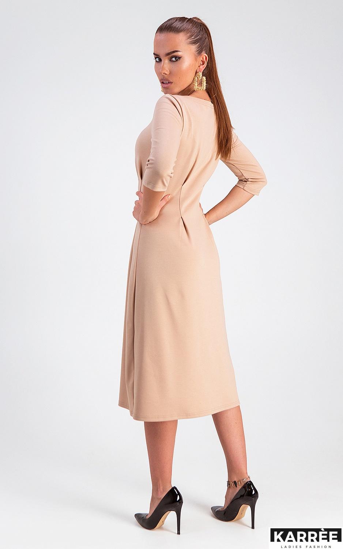 Платье Каен, Бежевый - фото 3
