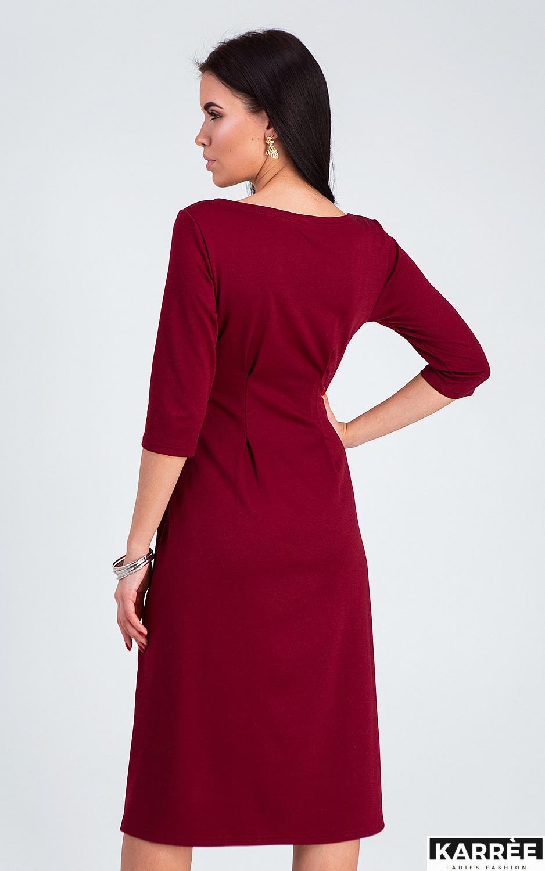 Платье Каен, Марсала
