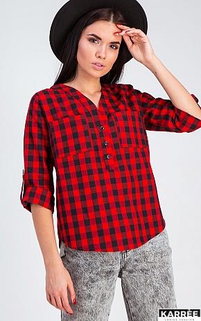 Рубашка Айлс, Красный - фото 1