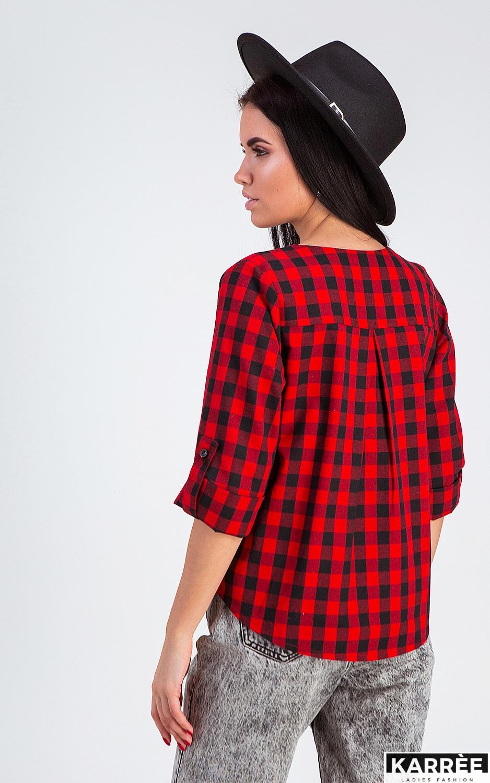 Рубашка Айлс, Красный - фото 2
