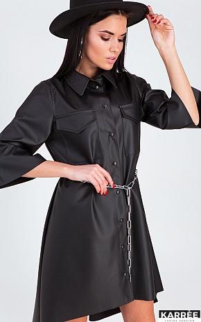 Платье Сиена, Черный - фото 1
