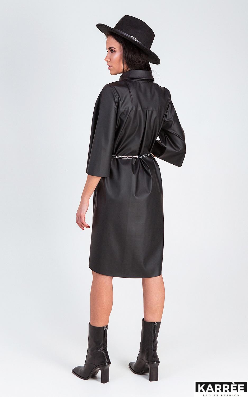 Платье Сиена, Черный - фото 3