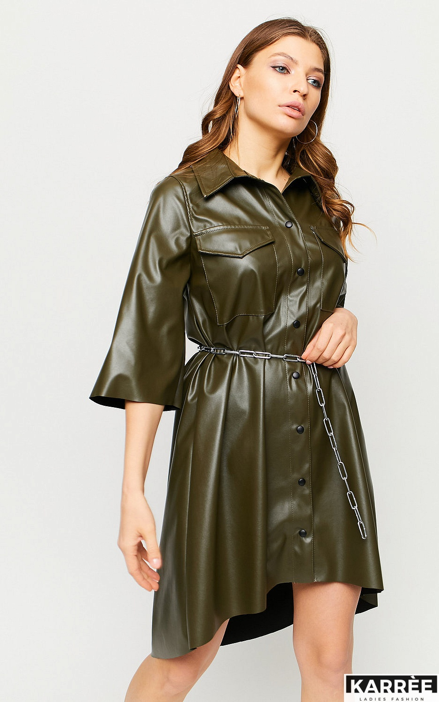 Платье Сиена, Хаки